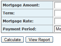 mortgage calculator loan debt