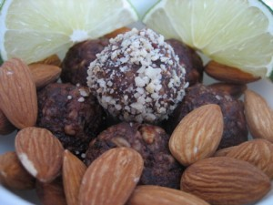 Recipe: Chocolate Almond Truffles