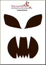 image regarding Free Printable Pumpkin Templates identified as Printable Pumpkin Carving Stencils (No cost and Overwhelming) - Squawkfox