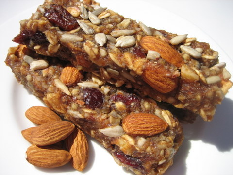 No Bake Dehydrated Granola Bars