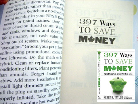397 ways to save money giveaway