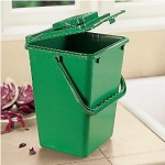 kitchen compost plastic compost bin