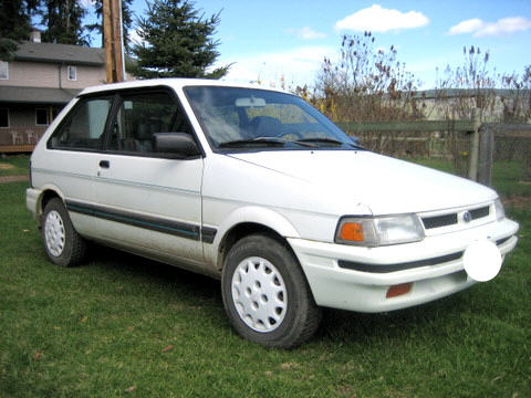 subaru justy manual used cars