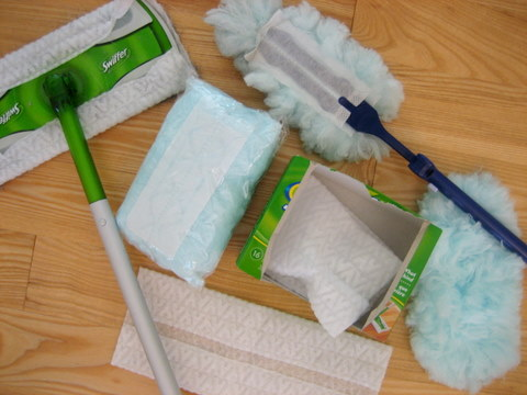 dust swiffer spring cleaning checklist