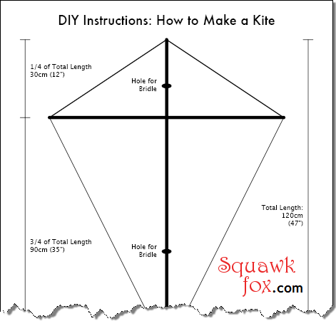 diy kite designs how to make a kite squawkfox. Black Bedroom Furniture Sets. Home Design Ideas