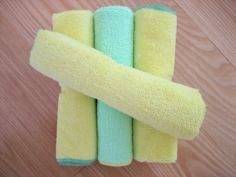 microfiber dust spring cleaning tips