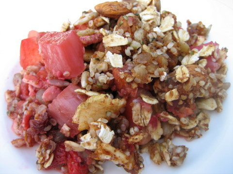 strawberry dessert recipes strawberry crisp rhubarb apple crisp