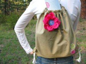 Back To School Tips: How To Make A Sling Backpack