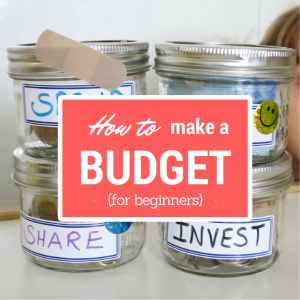how to budget your money