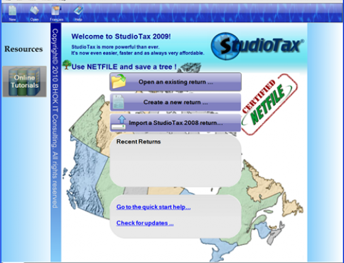 Tax Software Review: StudioTax