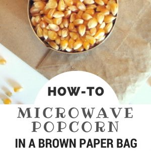 Paper Bag Popcorn How To Microwave Popcorn In A Paper Bag Squawkfox