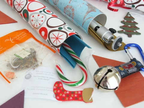 Outstanding How To Make Your Own Christmas Crackers Squawkfox Easy Diy Christmas Decorations Tissureus