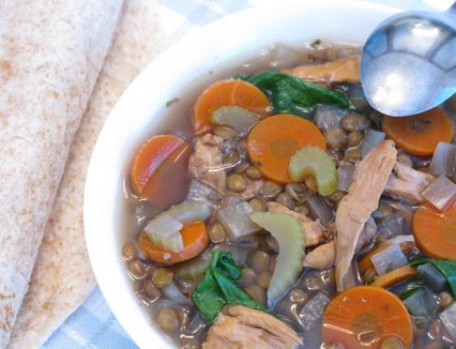 Slow Cooker Recipes: Chicken and Lentil Soup