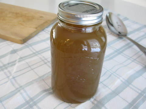That's it! Fresh chicken stock for all your soups and stews. Or use ...