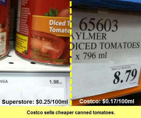 Costco tomato