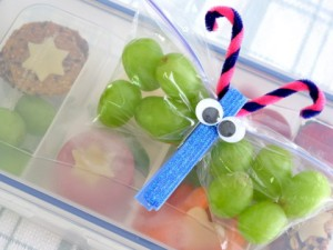 Make crafty Butterfly Snack Packs to save 50% on packaged kids food