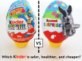 Make a banned Kinder Surprise Egg for 80% less