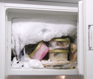 How to defrost a freezer