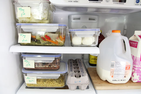 how to organize refrigerator