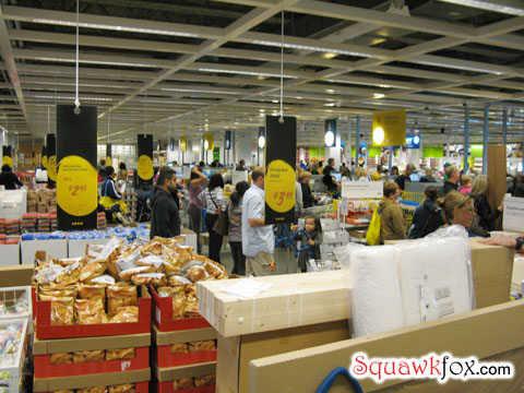 Ikea crowd