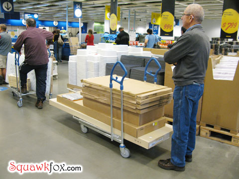 how to survive a trip to ikea squawkfox. Black Bedroom Furniture Sets. Home Design Ideas