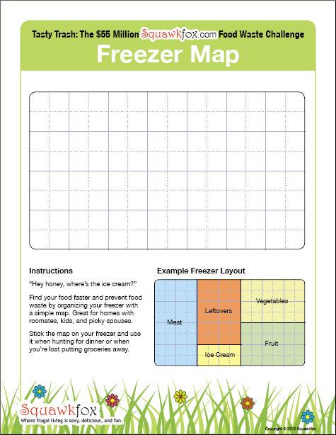 freezer map