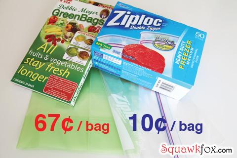 debbie meyer green bags ziploc