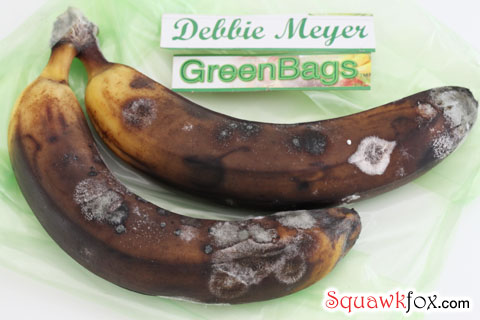 green bag banana