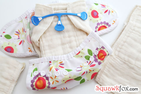 pinning cloth diapers