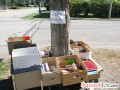 Start a community Book Tree to freecycle your used home library