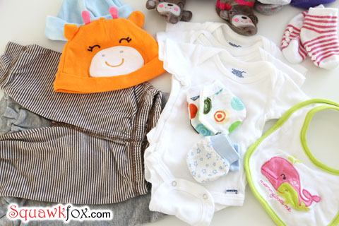 baby clothes list