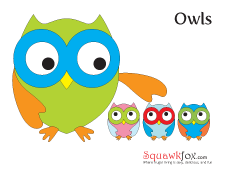 nursery owl template