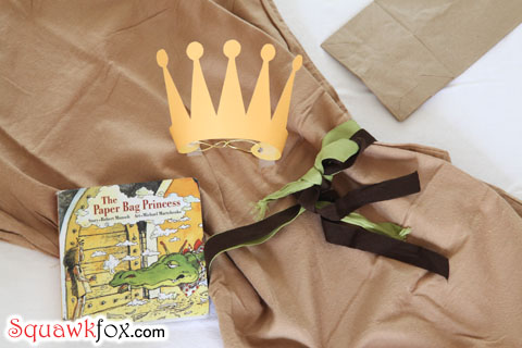 paper bag princess halloween costume