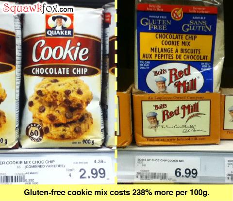 gluten free cookie mix