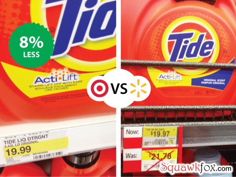 Target vs. Walmart: Where\'s the best deal? - Squawkfox