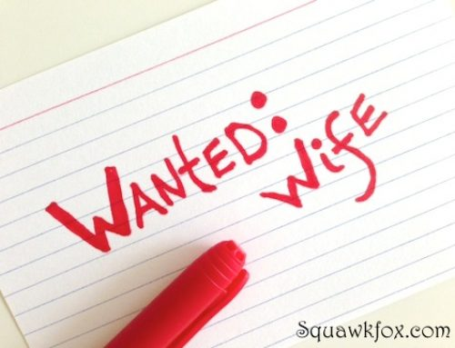 Why I hired my husband to be my wife