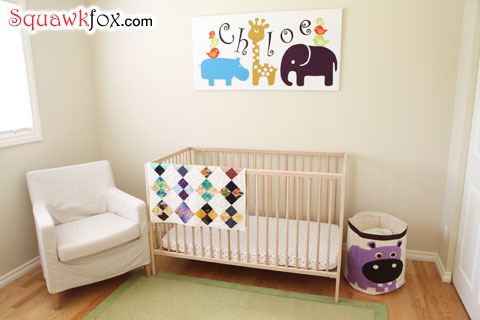 My home office after baby is more of a nursery.