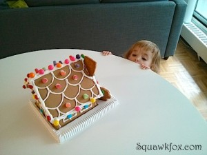 My Gingerbread House Fail: Don't sweat the small stuff