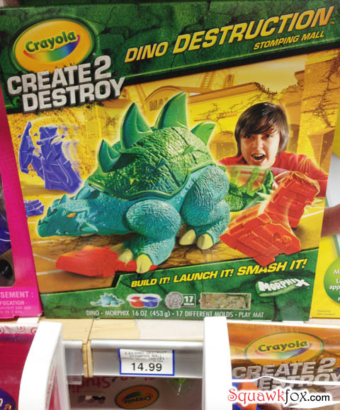 "A fun motto for friendly play: ""Create 2 Destroy"""
