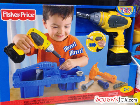 fisher price tools
