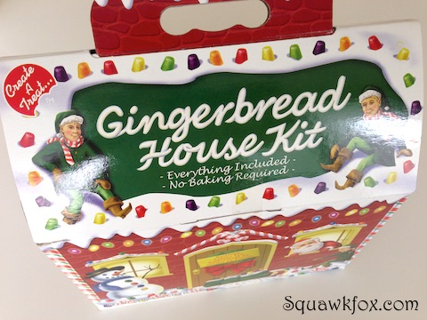 The $10 Gingerbread House Kit