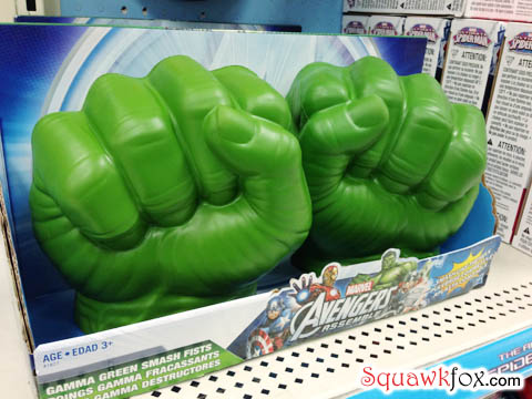 Hulking hands are meant for hitting?