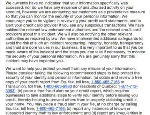 Well.ca credit card security breach affects thousands of customers