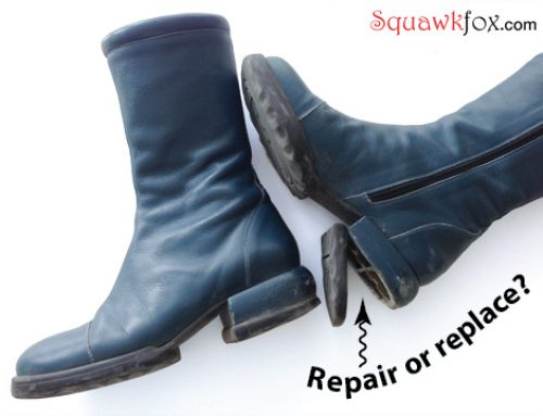 Repair or replace: When does it make sense to mend the threads you've got?