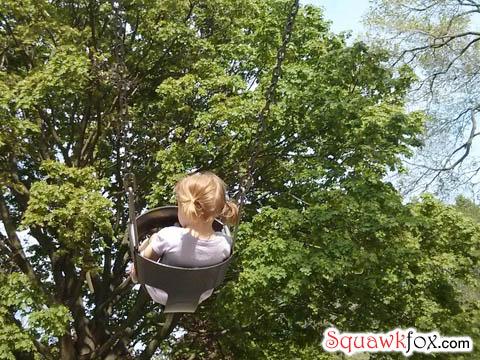 girl swing
