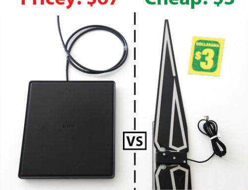 Is Dollarama's $3 HDTV antenna worth it?