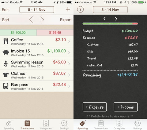 how to track your spending