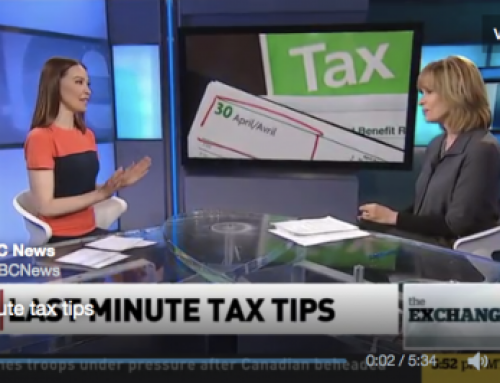 CBC The Exchange: Last minute tax breaks for late filers!
