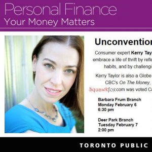 Come hear me speak: Unconventional Ways to Save Money