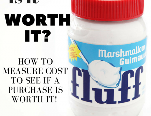 Is a purchase worth it? Measure cost in terms of hours worked